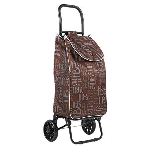 Gwllr trolley per la spesa cestini per la spesa carrelli della spesa con ruote picnic spiaggia viaggio