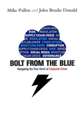 Bolt from the Blue: Navigating the New World of Corporate Crises: Written by Mike Pullen, 2014 Edition, Publisher: Elliott & Thompson [Hardcover]