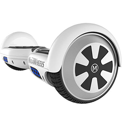 "M MEGAWHEELS Hover Boards, 6.5"" Self Balance Bluetooth Scooter mit 2 * 250W Motor, LED Lights Elektro Scooter"