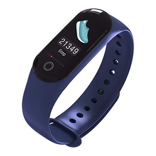 M30 Mode Farbdisplay Touchscreen Multifunktions-Chronograph Schritt Herzfrequenz-Tracker Schlafüberwachung Informationen fordert Sport Wasserdicht Smart Bracelet/Für iOS Android-Geräte und Software