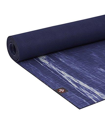 "Manduka EKO–Esterilla de Yoga y Pilates Yoga Mat, Lluvia Check, 5mm, 79"""