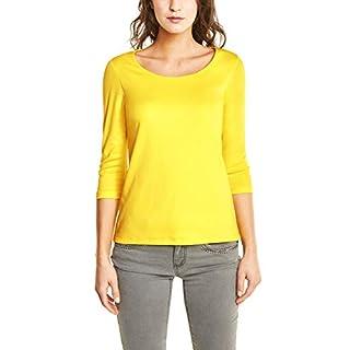 Street One Damen T-Shirt 311693 Pania, Gelb (Sunshine Yellow 11708), (Herstellergröße:42)