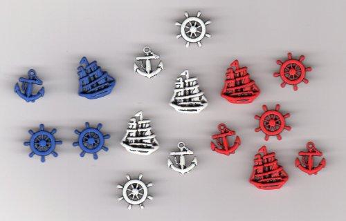 16-boutons-theme-marin-ancre-bateau-barre