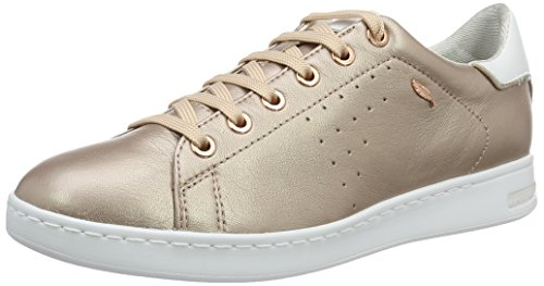 Geox D Jaysen A, Sneakers Basses Femme, Or (Rose Goldc8124), 40 EU