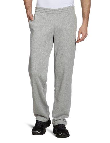adidas Herren lange Trainingshose Essentials Sweat Pants Open Hem, Medium Grey Heather, XL, X20547