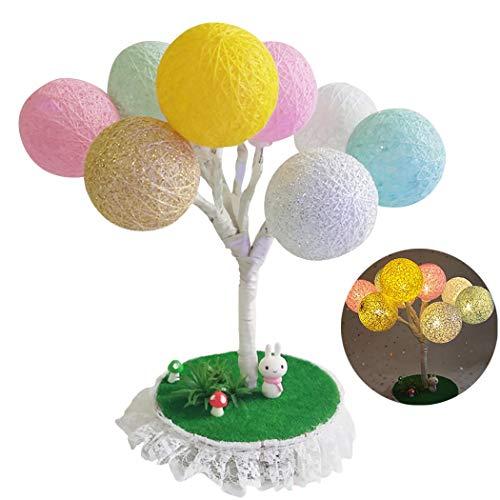 Joyibay Kinder DIY Machen Kit Kreatives Ball Herz LED Nacht Licht für Tisch Dekoration