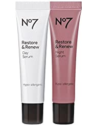 Boots No7 Restore & Renew Day & Night Serum, 1 Set 1 Ea by Boots