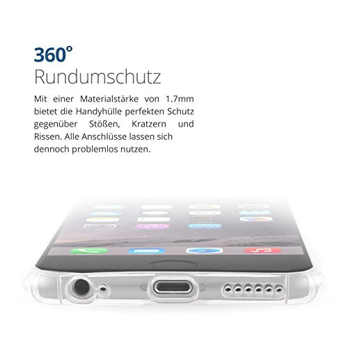 Danura iPhone 7 Spiegel Hülle Mirror Case / TPU Spiegel Hülle (iPhone 7, Rose) Gold