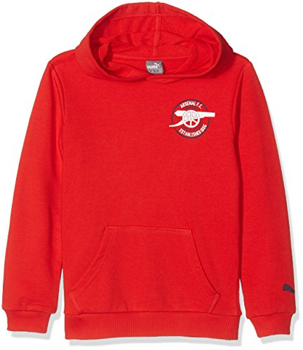 Puma Kinder AFC Graphic Hoody Pullover, high Risk red, 152 Arsenal Hoody