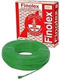 Finolex 1Sq mm PVC Insulated Cable Wire 90 m Coil (Green)