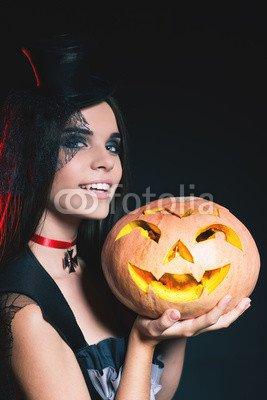 druck-shop24 Wunschmotiv: Entrance is limited to nightclub, dress code. Halloween party 2016! #120768066 - Bild auf Forex-Platte - 3:2-60 x 40 cm/40 x 60 cm (Dress Code Halloween)