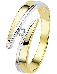 Diamond Line Diamant-Ring Damen aus Gold mit Diamanten