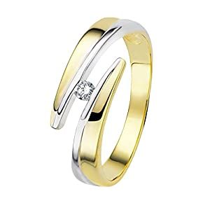 Diamond Line Diamant-Ring Damen aus Gold mit Diamanten