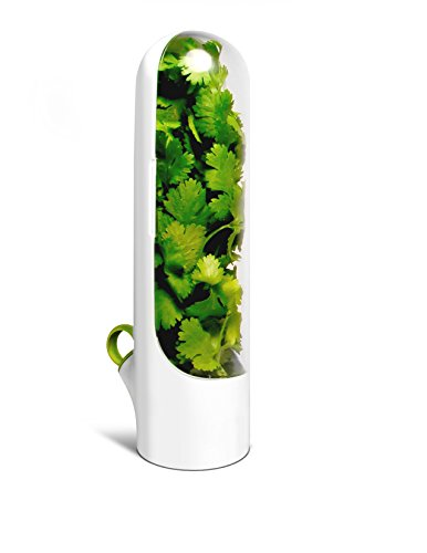 Herb Saver Best Keeper for Freshest Produce - Innovation that Works by Prepara by Prepara Herb Keeper