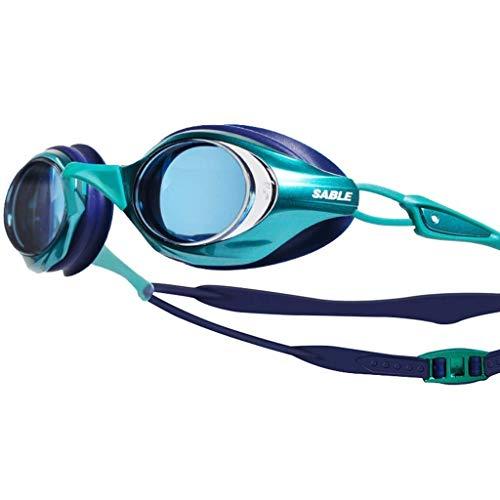 1949shop Schutzbrillen, Männer und Frauen HD Anti-Fog-Schwimmbrille Multi-Color Optional (Ozean Schwimmen-schutzbrillen)