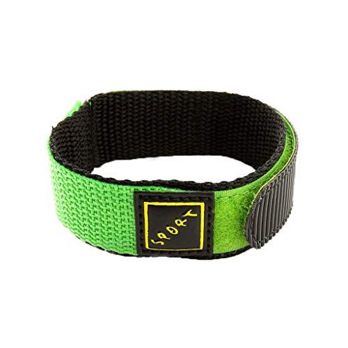 Maleya Watch Straps Silikon Uhrenarmband mit Schnellverschluss Sicherheitsgurt Stil gewebtes Nylon Armband für Watch Wrap-Around Nylon Uhrenarmband Sport Herren Damen 22MM Free Nylon Armband