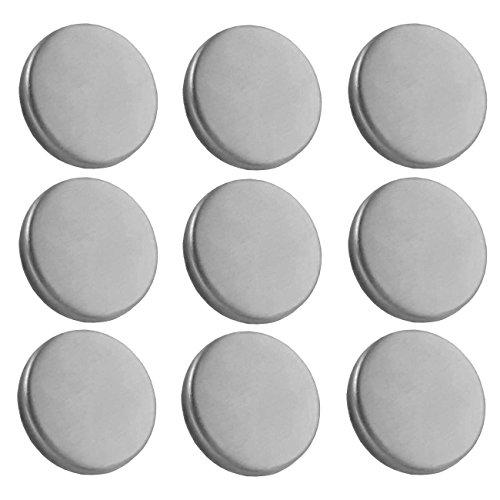 mit 3 Magneten w Zeller Present 11123 Magnettafel aus Metall 40 x 60 cm weiß