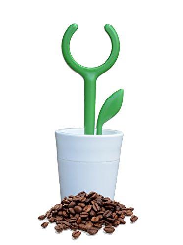 cremetto–Ladekabel Kapseln kompatibel mit Nespresso wiederverwendbar in Form von kleinen Pflanze-Design