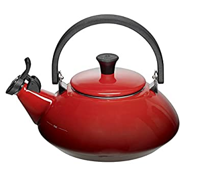 Le Creuset Zen Kettle with Whistle, 1.5 L - Cerise