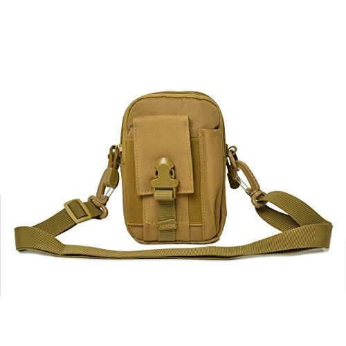 Outdoor-Multifunktions-Taschen getragen Gürtel casual Handy-Tasche Handtasche c
