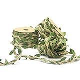 Nicedeal Yute Guita Hoja Cuerda Cadena De 32 Pies De Yute Natural del Papel De Regalo De La Cuerda para La Decoración De La Boda De Navidad Crafts