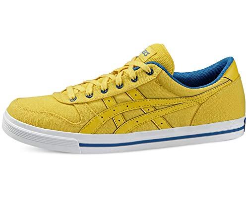 ASICS Aaron Unisex Sneaker Farbe: Gelb (0303); Größe: EUR 46.5 | US 12 | UK 11 - Basketball-schuhe Aus