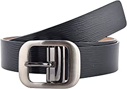Puma Mens leather Belt (5286601_Black Brushed Silver_small)(4056204111994)