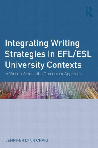 Integrating Writing Strategies in EFL/ESL University Contexts: A Writing-Across-the-Curriculum Approach