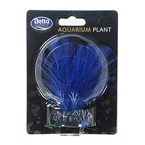 Plantas artificiales seda realista acuario ~ 10 cm