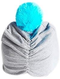ODJOY-FAN-bambino India Tappo per capelli fetale berretto di  copertura-Bella ragazza 7a4ddee83424
