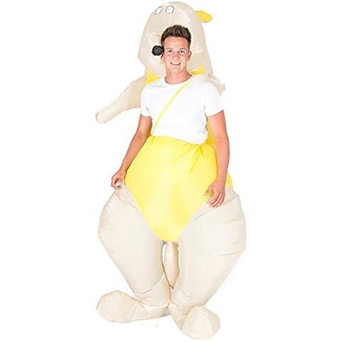 Disfraz de canguro hinchable para adultos
