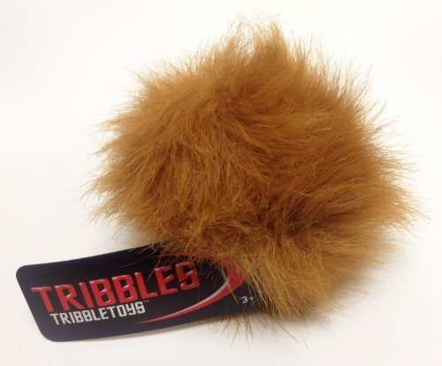 Tribble Toys Star Trek Plush Tribble - Lt Brown Desert Tribble - Small Size