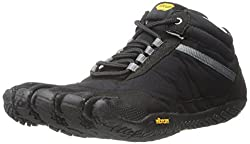 Vibram Mens Trek Ascent Insulated Walking Shoe, Black, 40 EU/8.5-9 D US