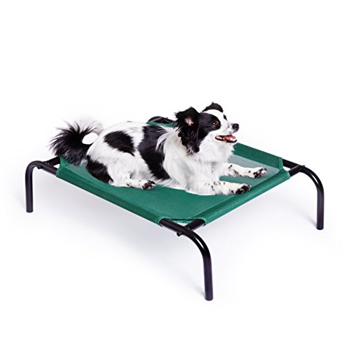 AmazonBasics-Elevated-Cooling-Pet-Bed-Small
