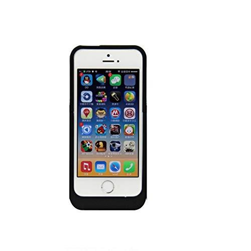 syr-new Arrival 2200mAh Power Case externe Backup-Batterie-Ladegerät für iPhone 5/5S/5C SE (schwarz)