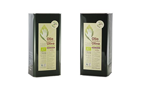 Negro Valiani - Olio Extravergine di Oliva Biologico, Leccino, 2 x 5 Lt.