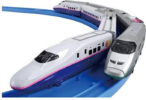 PLARAIL Advance E2 Series Yamabiko & E3 Series Tsubasa Join & Guide Rail Set (Tomica PlaRail Model Train) (japan import)