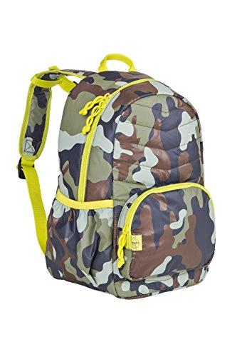 Lässig Mini Sac à dos matelassé Camouflage