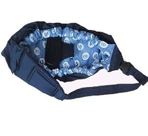Aolevia Porte-Bébé En Coton Sac de Portage & Echarpe de Portage Pour Protéger Votre Bébé-Bleu