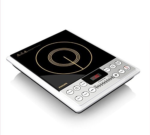 Philips HD4929 2100-Watt Induction Cooker (Black)
