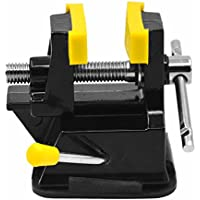 BEETEST Mini DIY del metal de Casa de los tornillo de banco de prensa de la abrazadera del accesorio que talla con la succión del caucho base de la taza
