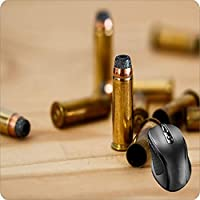 BGLKCS Mouse Pad Fabric Topped Rubber Backed Bullet Cartridge Ammunition Ammo Shell Case for Apple iPhone 6/6s