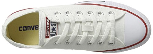 Converse Converse Sneakers Chuck Taylor All Star M7652, Unisex-Erwachsene Sneakers, Weiß (Optical White), 43 EU (9.5 Erwachsene UK) - 13