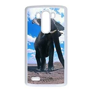 LG G3 White Elephant Phone Case Beautiful Novel Innovative Gifts Trendy OTWZJ8010571