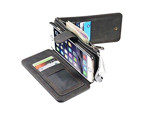 iPhone 6 Plus/6S Plus Hülle,UltraSlim Thermo Sensor Fluoreszierende Thermo Hitze Induktion matt weich PC Schutzhülle Handyhülle Tasche für Apple iPhone 6 Plus/6S Plus 5.5 Zoll mit Farbwechsel Back Cas Schwarz
