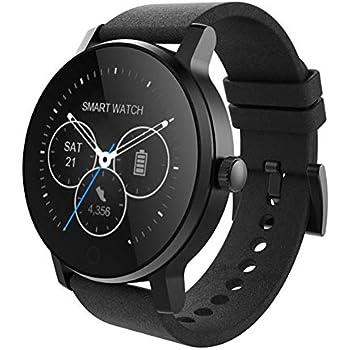 Montre Connectée, Bluetooth Smartwatch étanche IP54, Avec Ecran Tactile Sport Pédomètre Moniteur De Sommeil