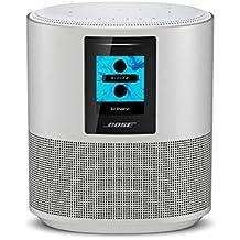 Bose Home Speaker 500, Suono Stereo con Alexa integrata, Luxe Silver