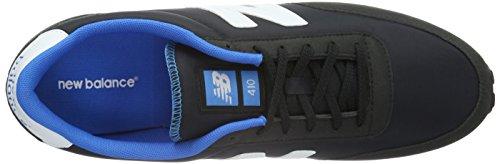 New Balance Herren U410 Sneakers Schwarz (Black/White/Blue)