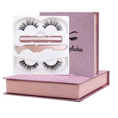 Pestañas Postizas Magneticas Pestañas Magnetic Eyeliner