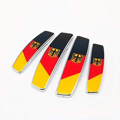 Ezip Stylish and Cool BUNDESFLAGGE Genuine Imported European Door Guard Protector For Land Rover Range Rover